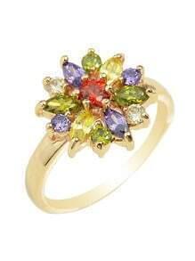 Rhinestone Beautiful Engagement Ring