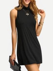 Mock Neck Tank Dress