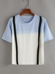 Ombre T-Shirt With Strap