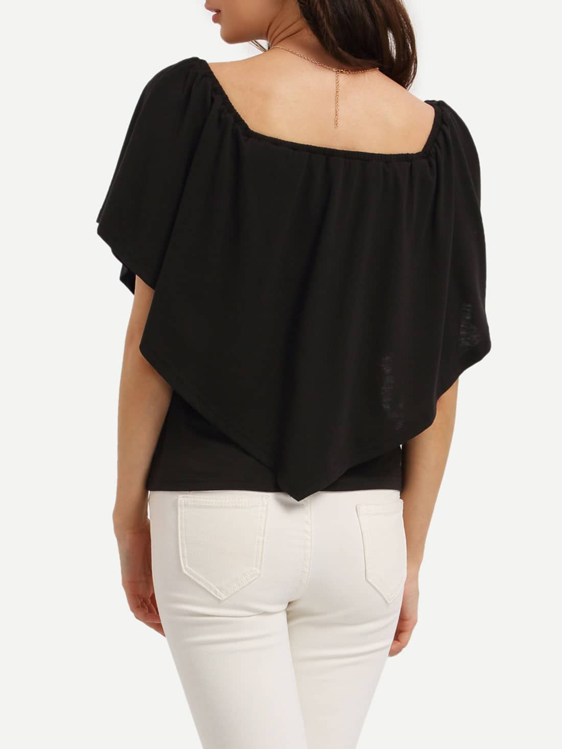 Off The Shoulder Ruffle Blouse 120