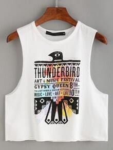 Thunderbird Print Tank Top