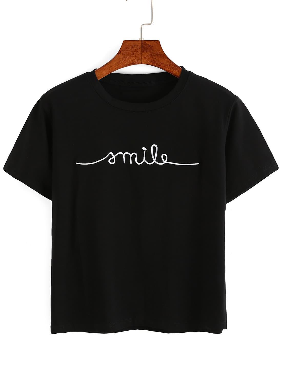 Фото Embroidery T-shirt. Купить с доставкой