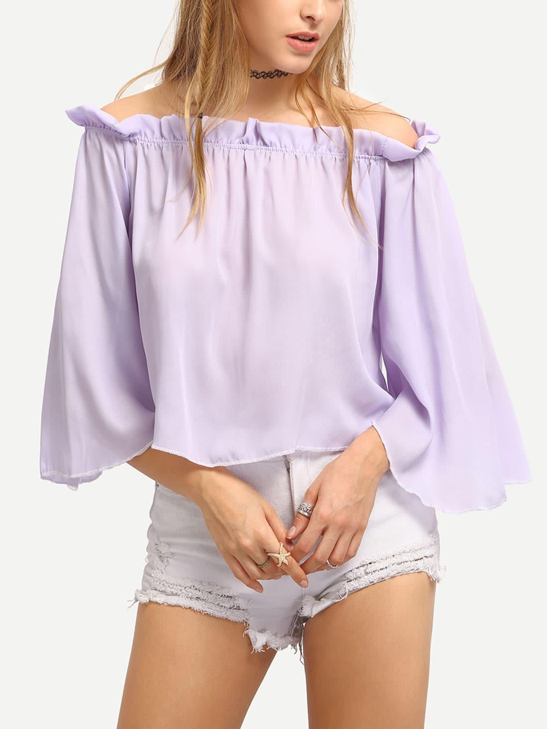 blusa manga larga shein