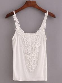 Crochet Neck Cami Top