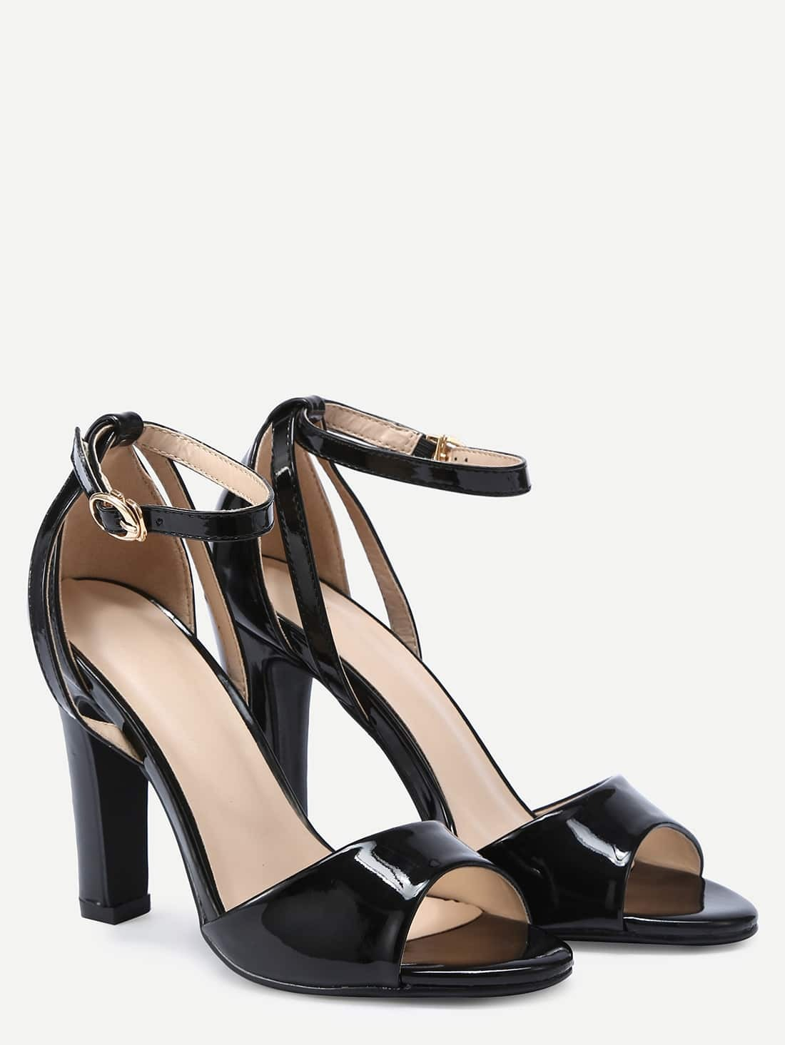 Buy low price, high quality black ankle strap heel sandals with worldwide shipping on dirtyinstalzonevx6.ga