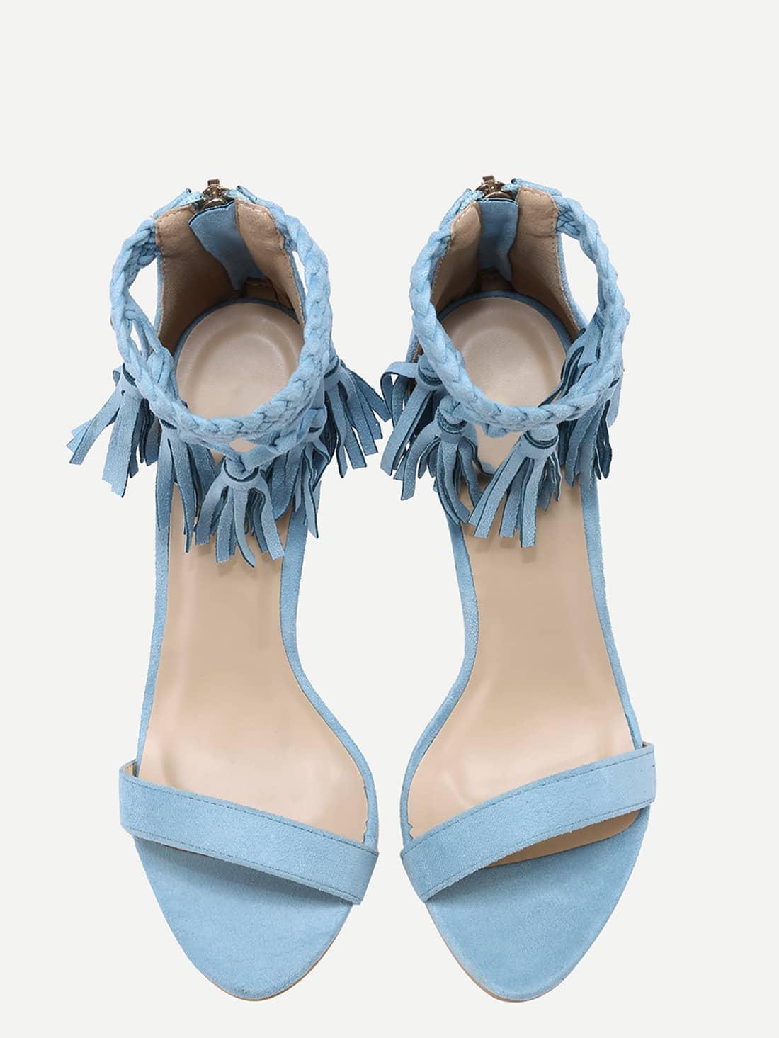 high heels sandals light blue - photo #35