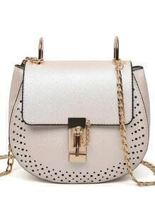 Laser-Cut Chain Saddle Bag