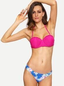 Flower Print Mix & Match Bikini Set