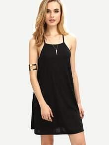 Square Neck Swing Cami Dress