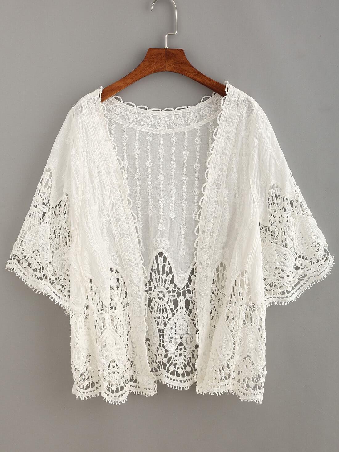 Купить Crochet Insert Hollow Out Top