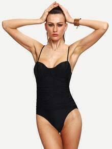 Ruched One-Piece Swimwear