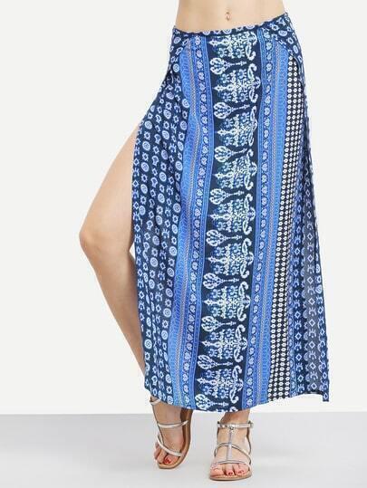 Tribal Print Skirt 43
