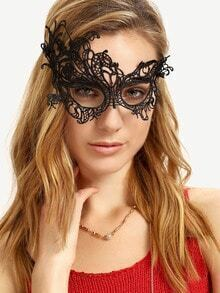 Black Chic Lace Party Mask