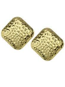 Square Shape Stud Earrings