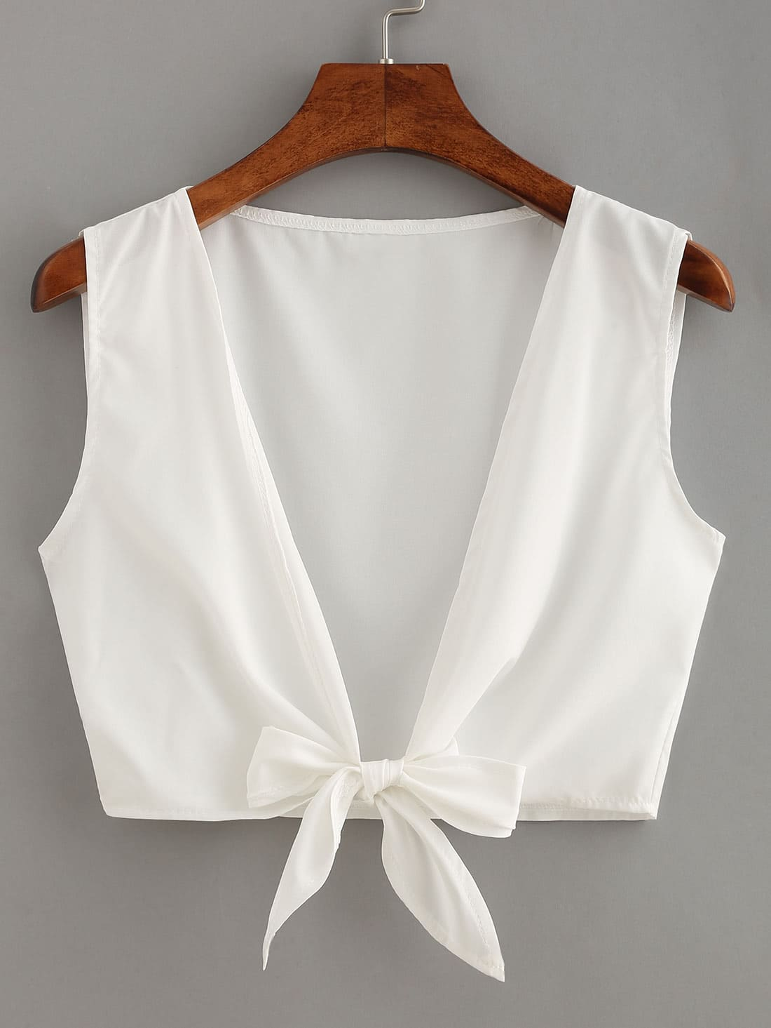 Knot Front Crop Top RVES160504001