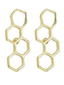 Gold Plated Stud Wear Earrings