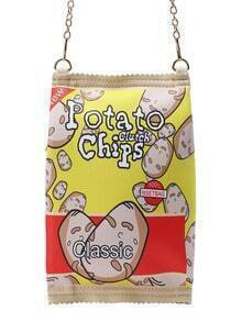 Potato Chips Bag With Chain