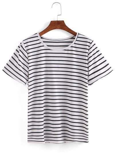 Stripd Short Sleeve T-shirt
