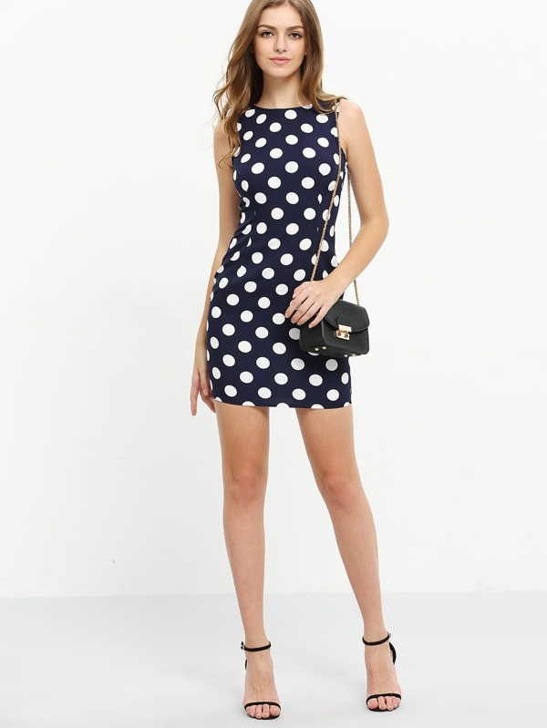 Polka Dot Bodycon Dresses Cheap