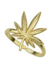 Gold Plated Flower Shape Ring