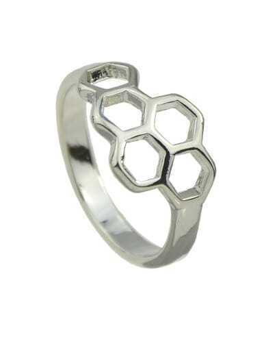 silver Punk Rock Metal Ring