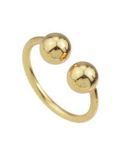 Gold Women Metal Cuff Ring