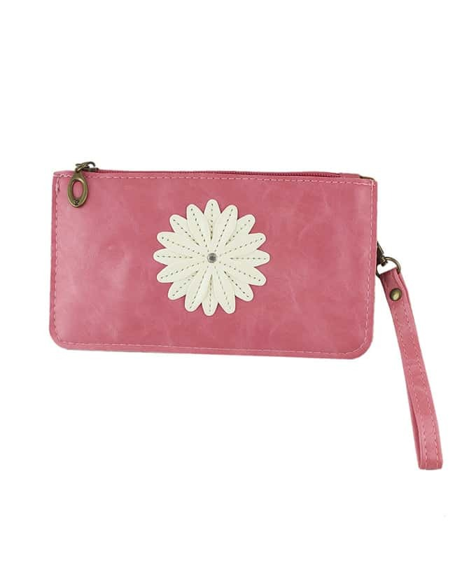 Pink Small Pu Leather Bag