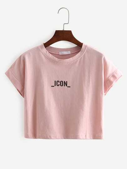 ICON Print Crop T-Shirt