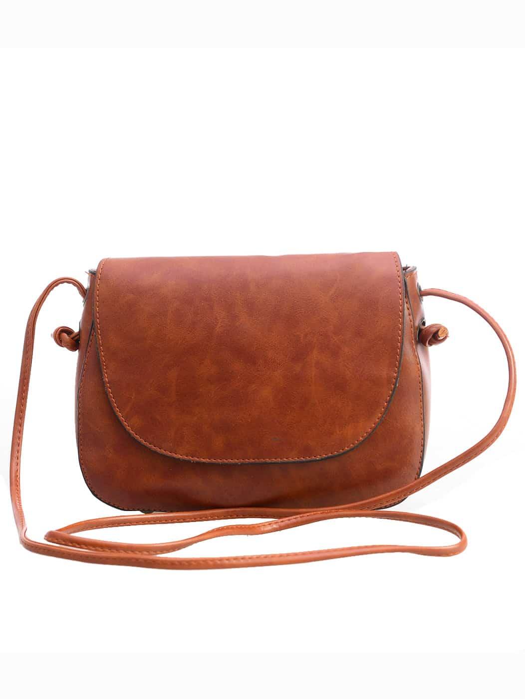 Magnetic Closure Saddle Bag