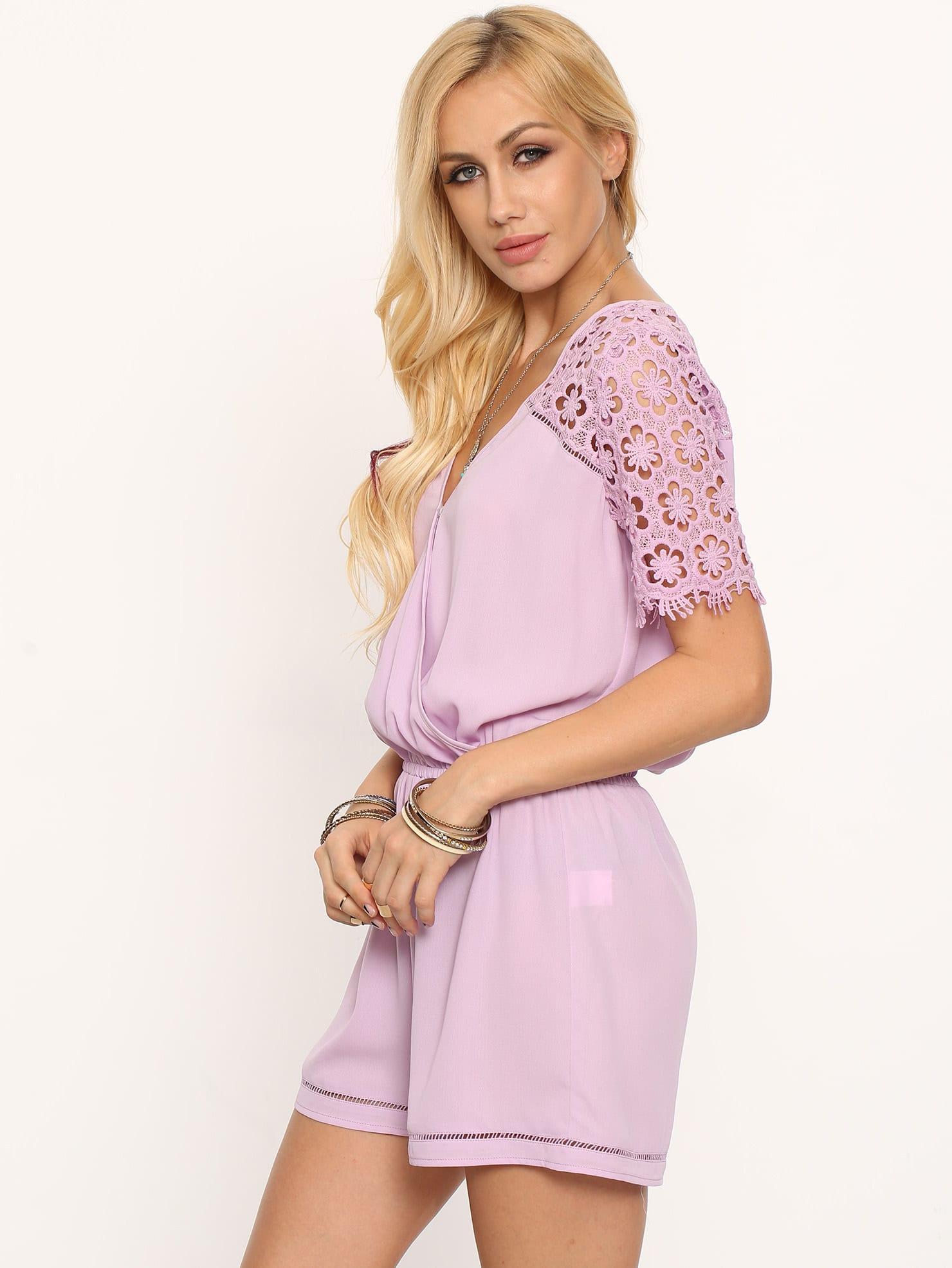 Asombroso Vestidos De Dama De Gasa De Color Púrpura Inspiración ...