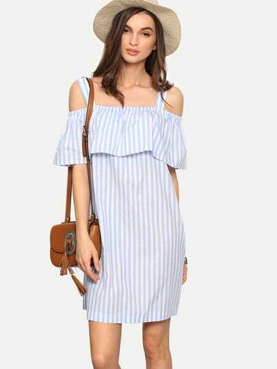 http://www.shein.com/Multicolor-Striped-Cold-Shoulder-Ruffle-Shift-Dress-p-284184-cat-1727.html?aff_id=1285