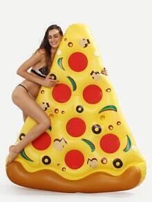 Pizza Slice Pool Float- Yellow