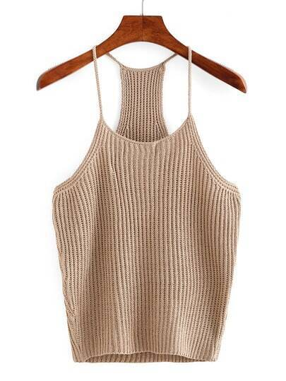 Knitted Cami Top