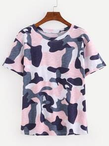 Pink Camouflage T-shirt