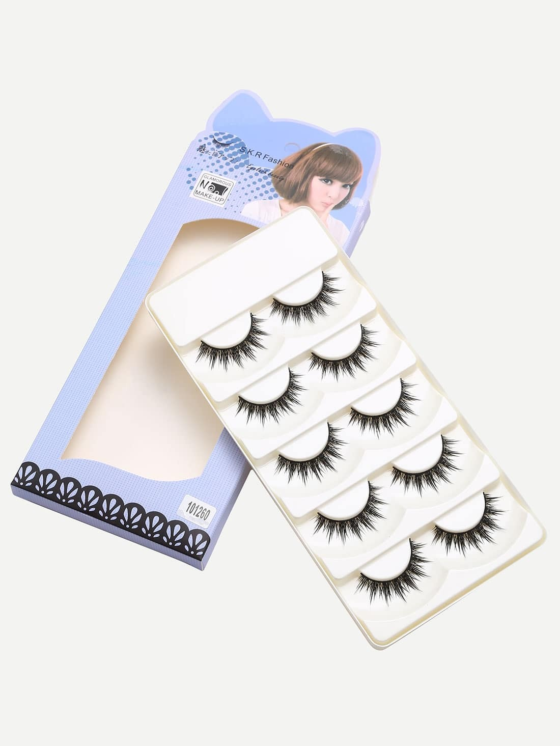 Natural Short Straight Eyelashes