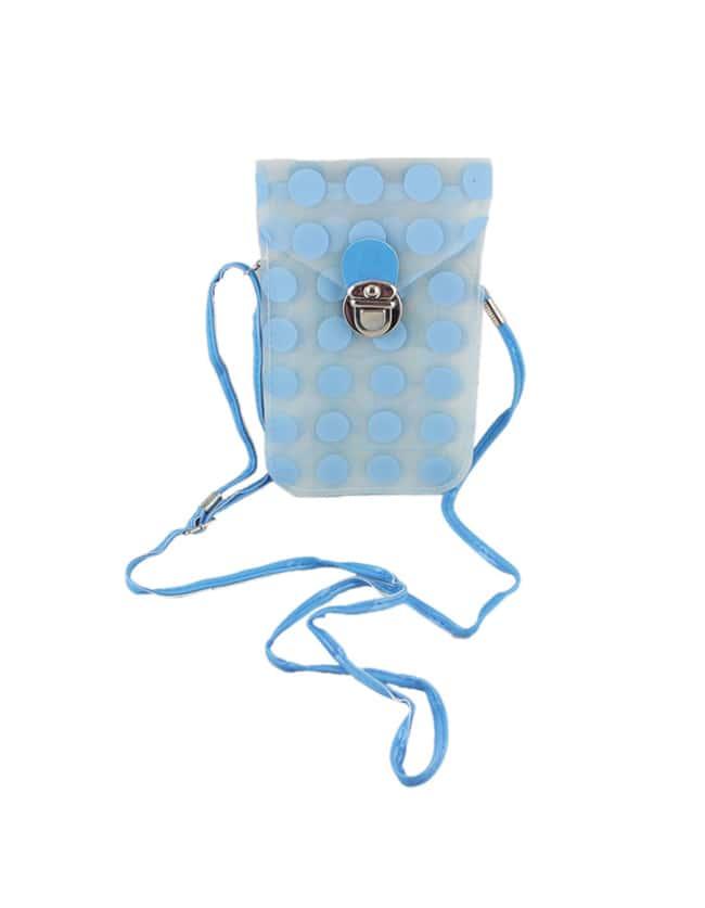 Blue Small Card Bag