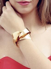 Golden Anti-radiation Geometrical Bracelet