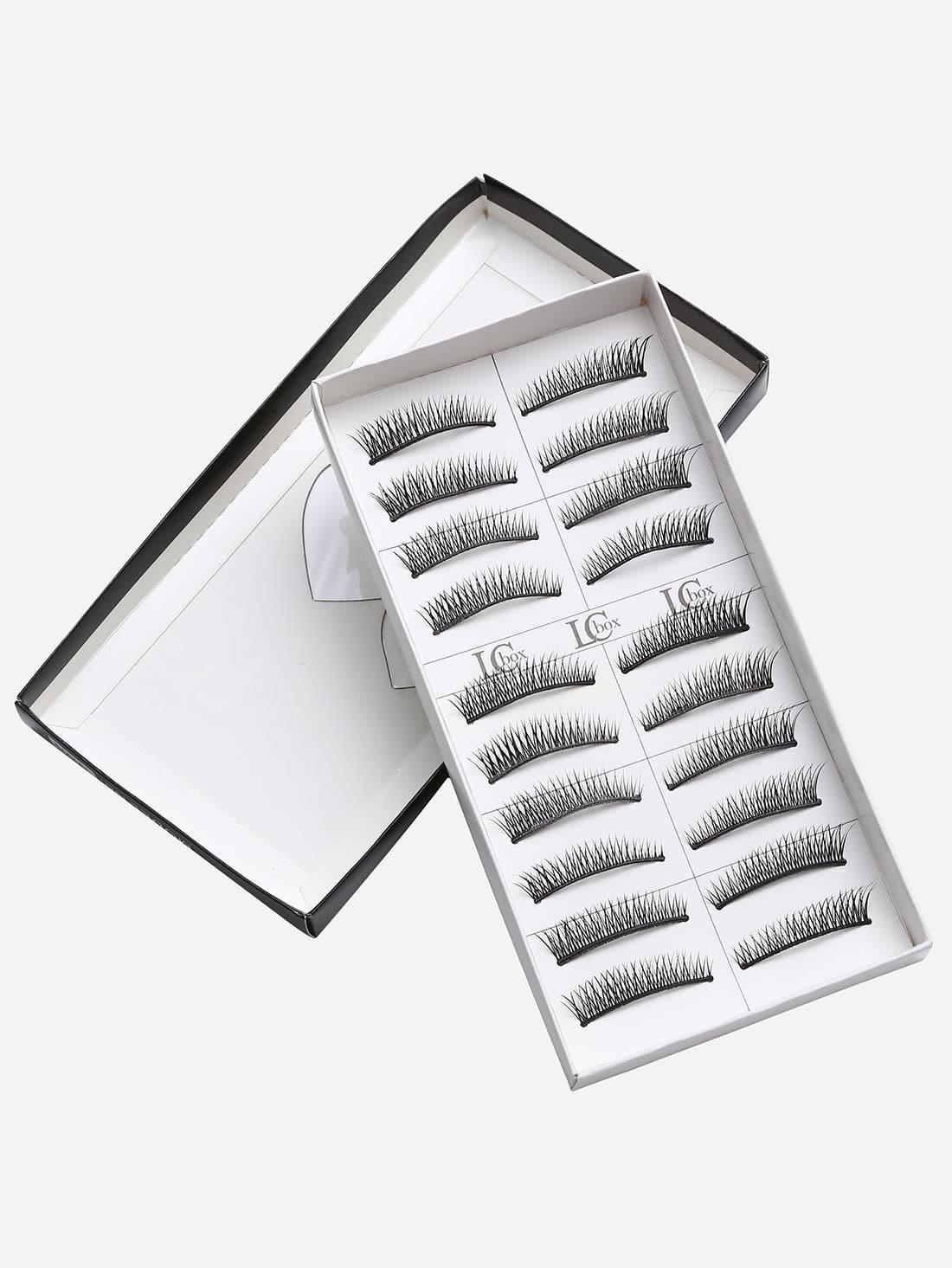 Natural Short Straight False Eyelashes