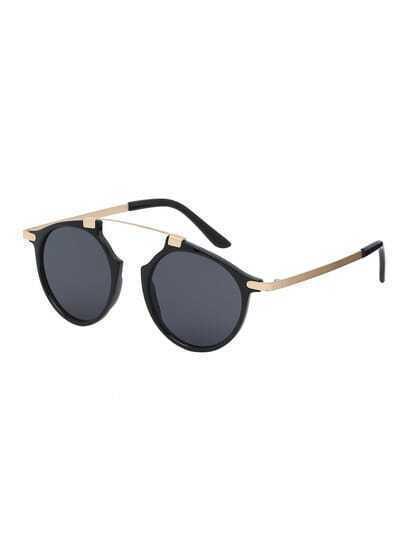 Black Frame Black Lenses Sunglasses