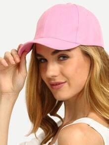 Pink Simple Baseball Cap