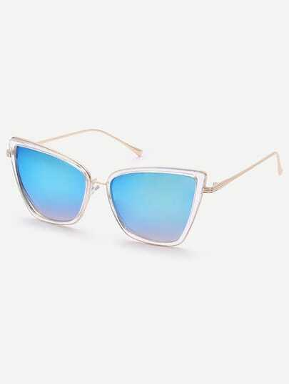 Fashionable Cat Eye Lenses Sunglasses