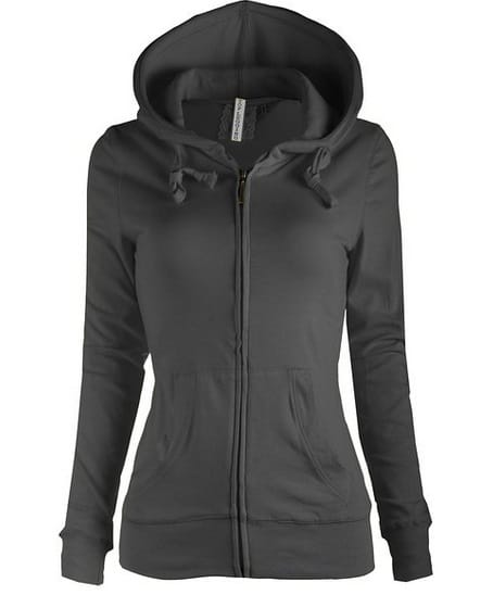 Knitted Casual Zip-Up Hoodie Jacket