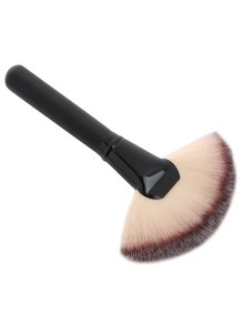 Fan-shaped Powder Brush