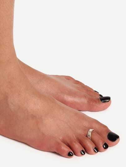Minimalist Single Foot Ring