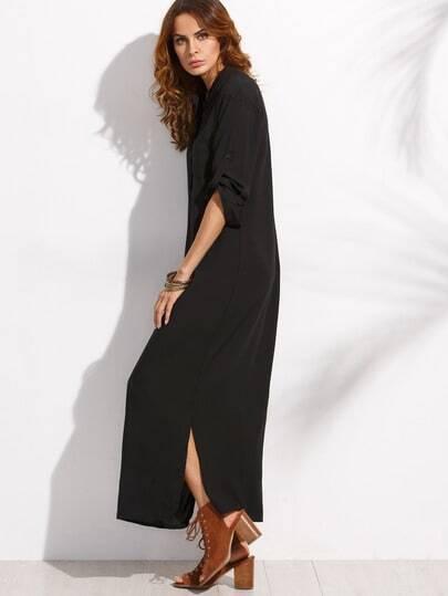 Платье бершка длинное