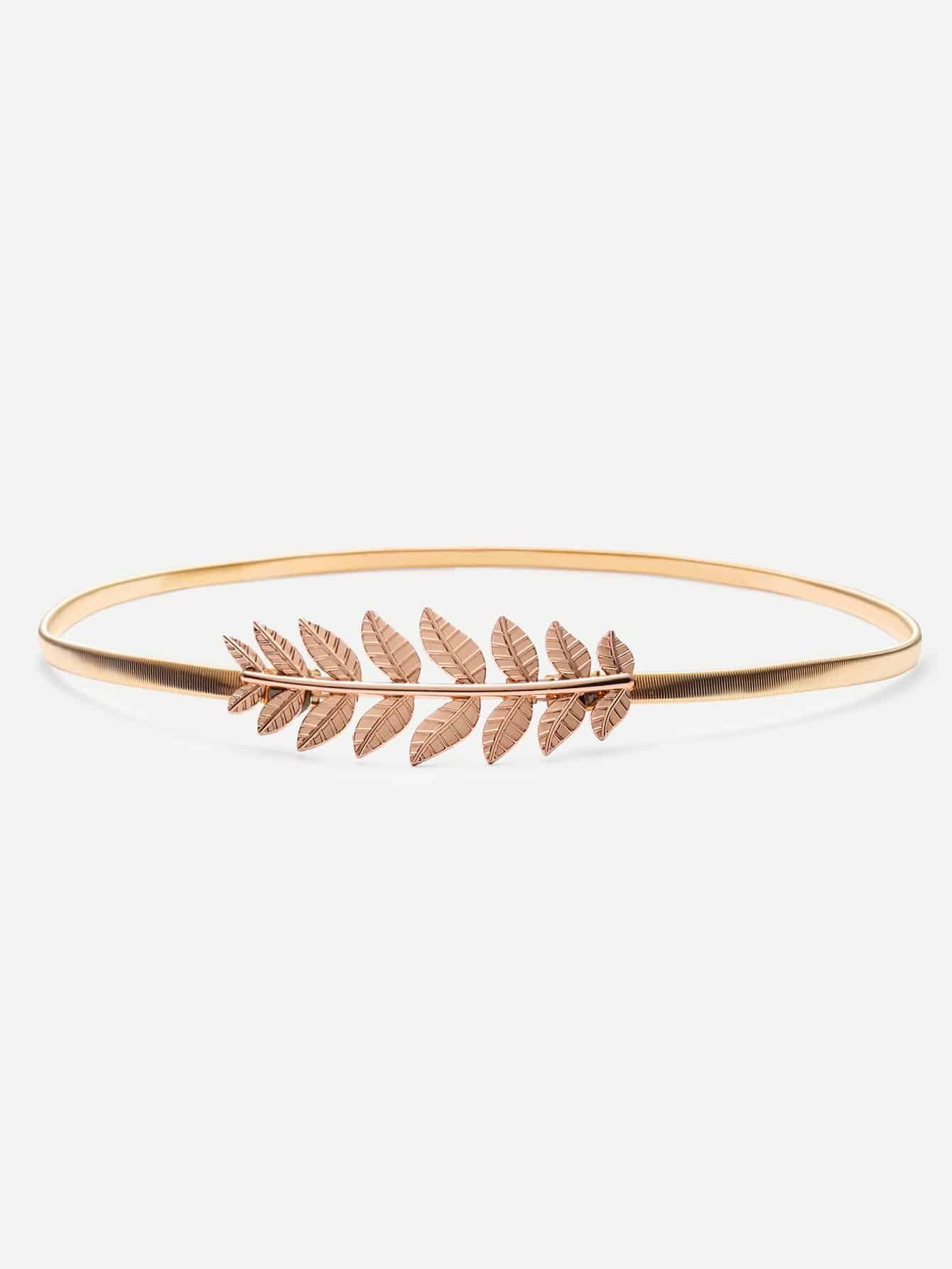 Фото Gold Leaf Metal Elastic Belt. Купить с доставкой