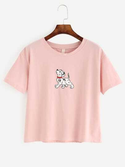 Dog Print T-shirt