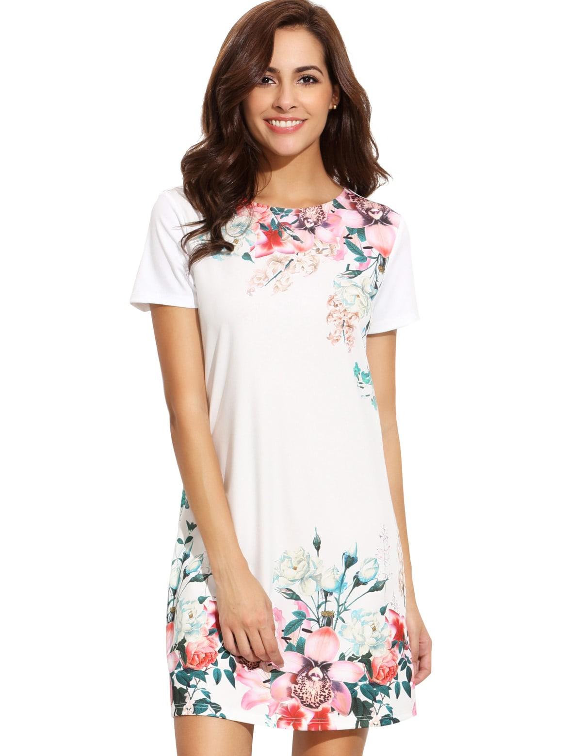 Фото Floral Print Sheath Dress. Купить с доставкой