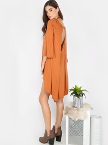 Flowy Cut Out Front Top BRONZE