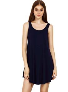 Blue Swing Tank Dress
